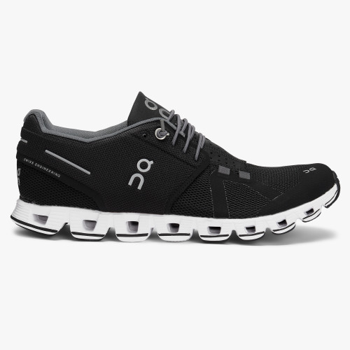 On Cloud (black/white) Laufschuh Damen