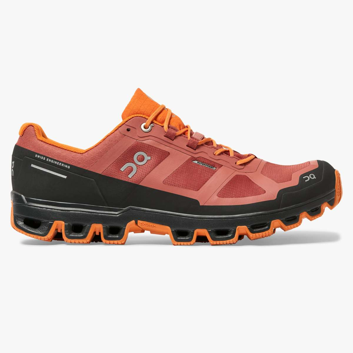 On Cloudventure Waterproof (rust/orange) Laufschuh Herren